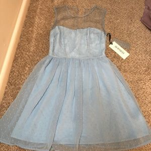 Rodarte for Target soft blue dress